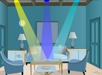 Play Blue Crystal Room