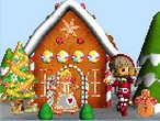 Play Gingerbread House Puzzle