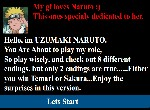 Play Naruto Dating Game